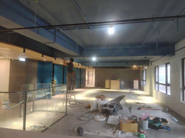 林口全新辦公室正式啟用-安興工程顧問有限公司-監視門禁對講系統